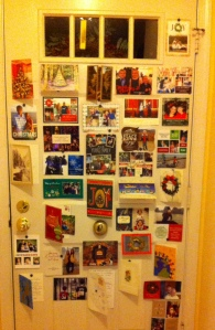 Not exactly a Pinterest-worthy display, but we've been loving the cheer as our collection grows.