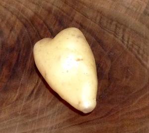 I'm now singing Taylor Dayne as I slice the remaining potatoes.